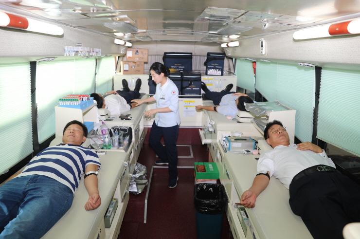 헌혈천사들 헌혈캠페인 동참 이미지1번째